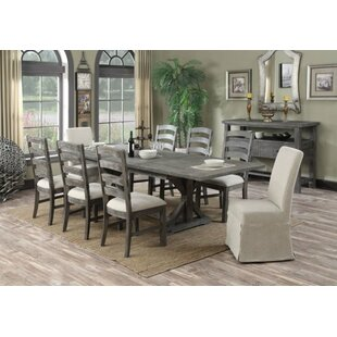 Motsinger 9 Piece Extendable Dining Set