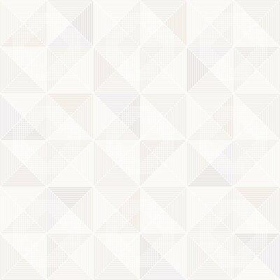 Brewster Home Fashions Wall Vision 33 x 20.9 Dabria Geometric Wallpaper Color: Cream