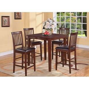 Quinlan 5 Piece Counter Height Dining Set Andover Mills