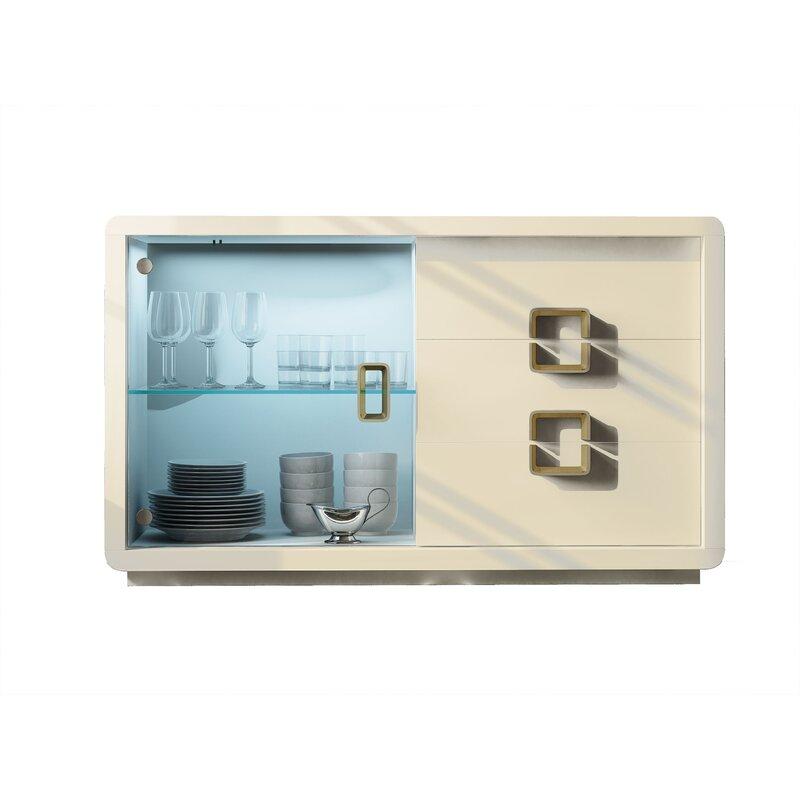 Hispania Home Azkary 60 Wide 3 Drawer Sideboard Wayfair