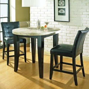 Chloe Counter Height Pub Table Set by Lat..