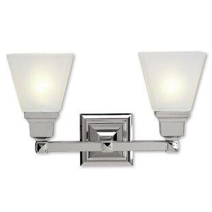 Alcott Hill Bruno 2-Light Vanity Light