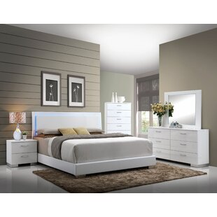 Dias Panel Configurable Bedroom Set