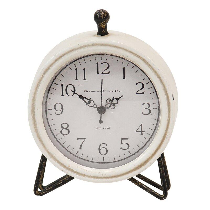 Highland Dunes Tabletop Clock Reviews Wayfair