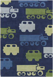 Kids' Cars, Trucks & Trains Rugs