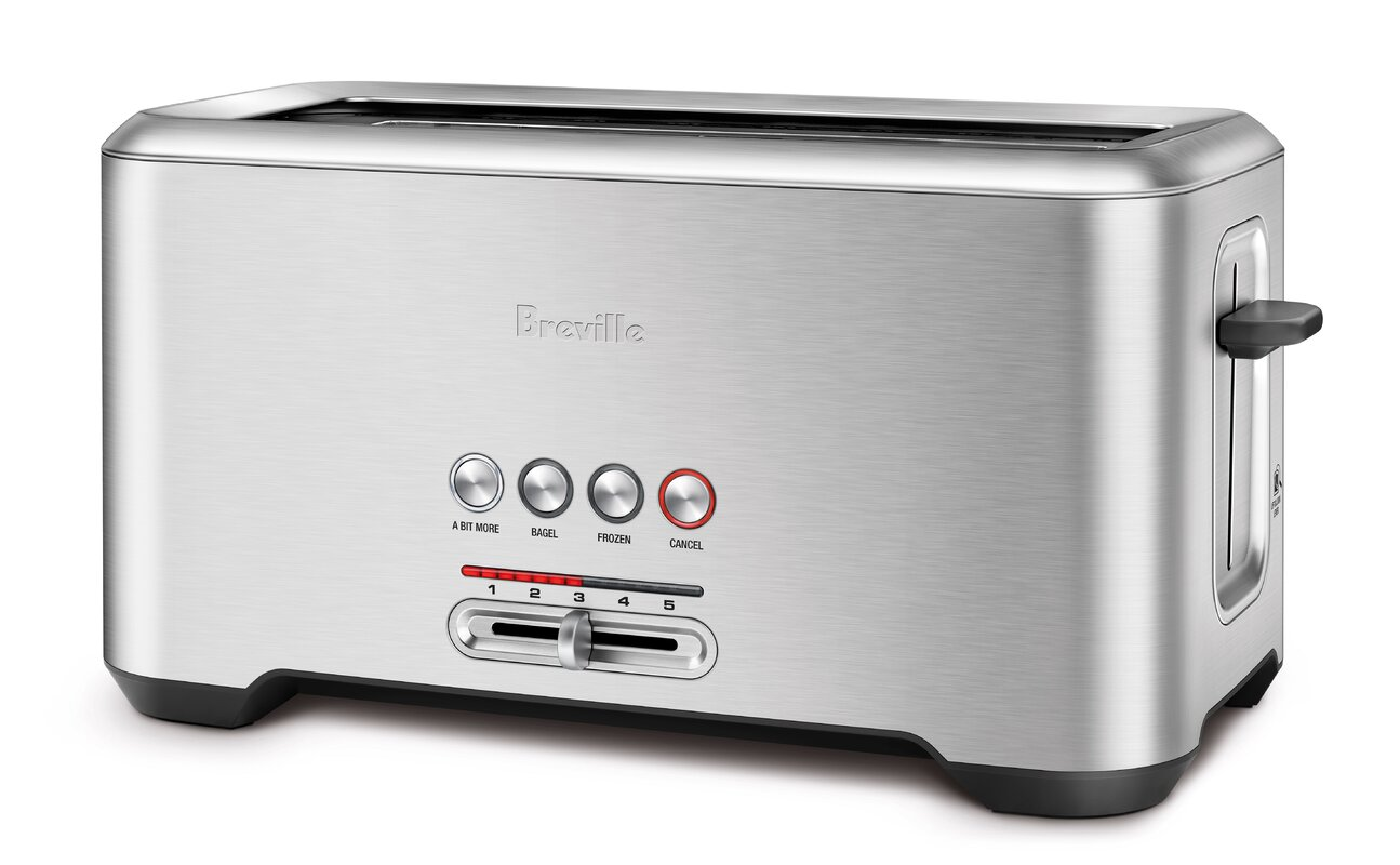 Breville 4 Slice Bit More Toaster & Reviews