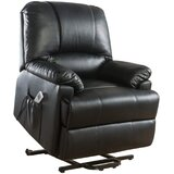 Ajayceon Faux Leather Power Lift Assist Recliner with Massage by Red Barrel Studio®