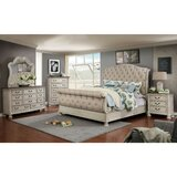 Faucett Upholstered Standard Configurable Bedroom Set by One Allium Way