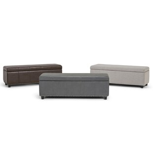 Buser Upholstered Storage Bench by Charlton Home
