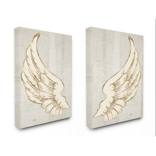 Favorite Angel Wings Canvas Artwork | Wayfair SY34