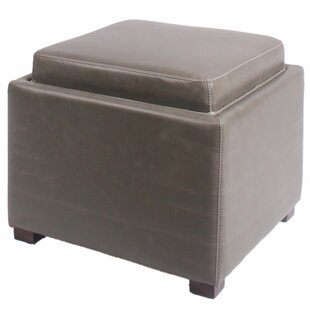 Jeddo Cube Ottoman by Red Barrel Studio