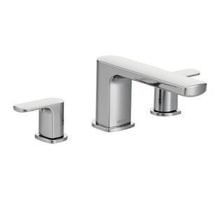 Moen Rizon Double Handle Deck Mount Tub O..