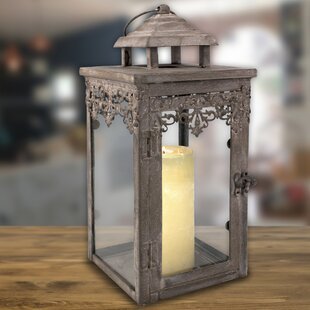 Lark Manor Zinc Filigree Lantern