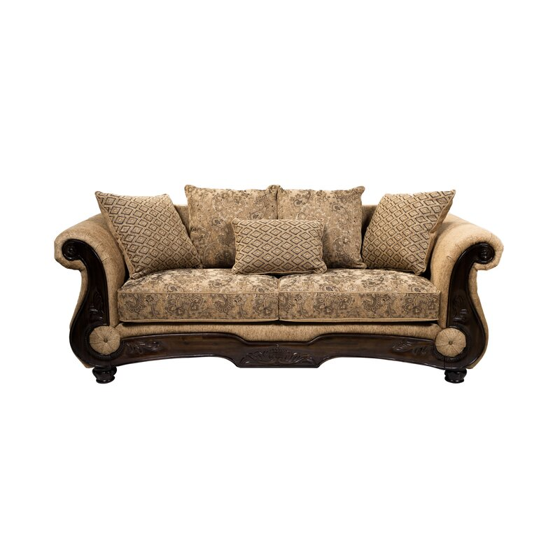 World Menagerie Destanee Traditional Chesterfield Sofa Reviews