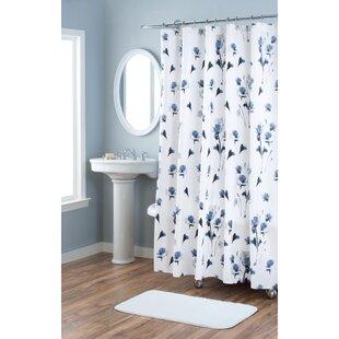 Great Price Le Fleur Cotton Shower Curtain ByNicole Miller