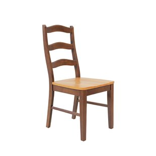 TTP Furnish Solid Wood Dining Chair (Set of 2)