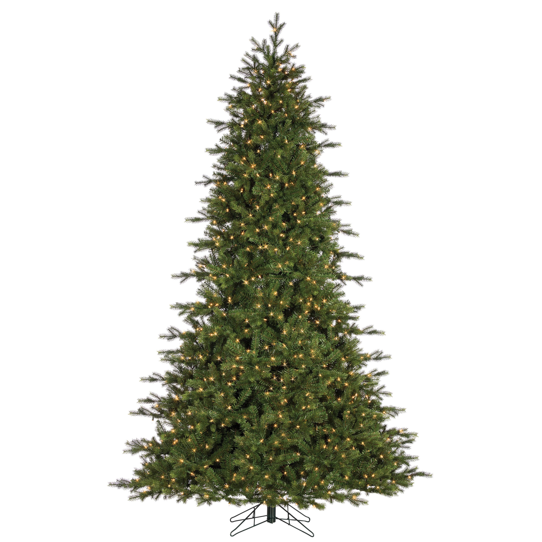 The Holiday Aisle Led Natural Cut Rivera Green Pine Artificial