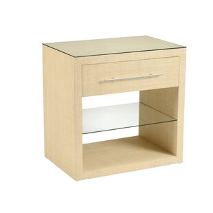 Affordable Price Hazel 1 Drawer Nightstand by Wildwood