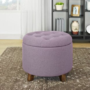 Maisie Tufted Storage Ottoman by Charlton Home