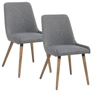 Webber Upholstered Dining Chair (Set of 2) by Brayden Studio SKU:CB580157 Description
