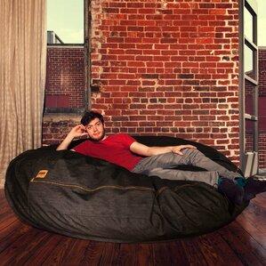 Denim Cocoon 6u0027 Bean Bag Chair