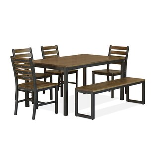 Loft 6 Piece Dining Set Elan Furniture