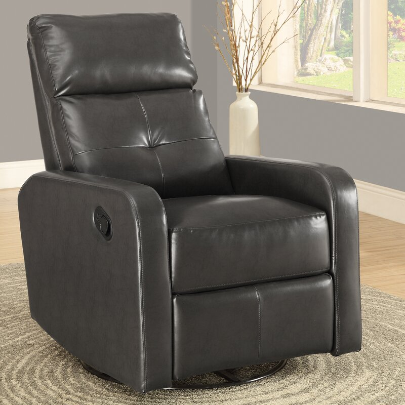 Manual Swivel Glider Recliner & Monarch Specialties Inc. Manual Swivel Glider Recliner u0026 Reviews ... islam-shia.org