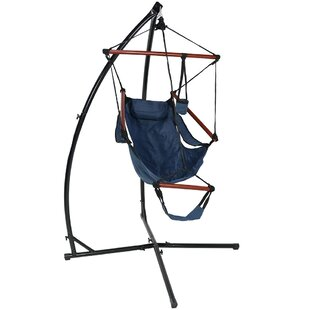 Freeport Park Zoie Durable Chair Hammock with Stand