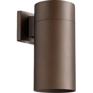 Compare prices Arter 1-Light Outdoor Sconce By Wade Logan