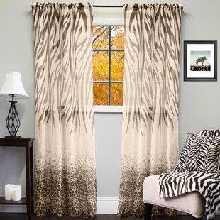 Cheetah Print Curtains