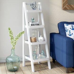 Goshen 136cm Leaning Ladder Bookcase By Breakwater Bay
