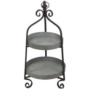 Gracie Oaks Angello Aluminum Baker's Rack