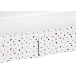 Compare Nautical Nights Print Crib Skirt By Sweet Jojo Designs