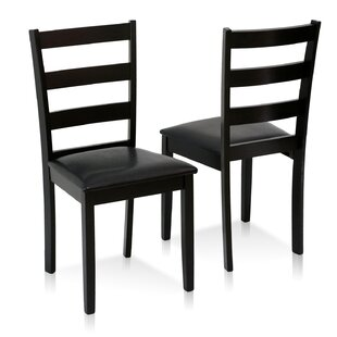 Furinno Cos Simply Solid Wood Side Chair (Set of 2)