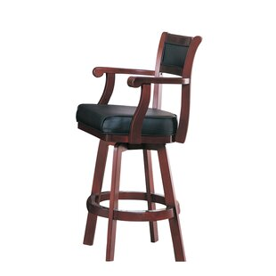 Tiernan 29 Swivel Bar Stool Wildon Home®