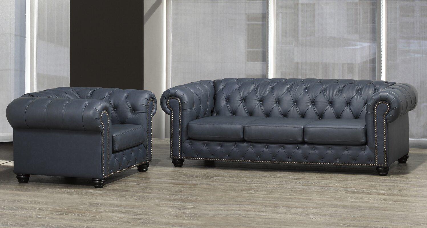 Astoria Grand Orner 3 Piece Living Room Set