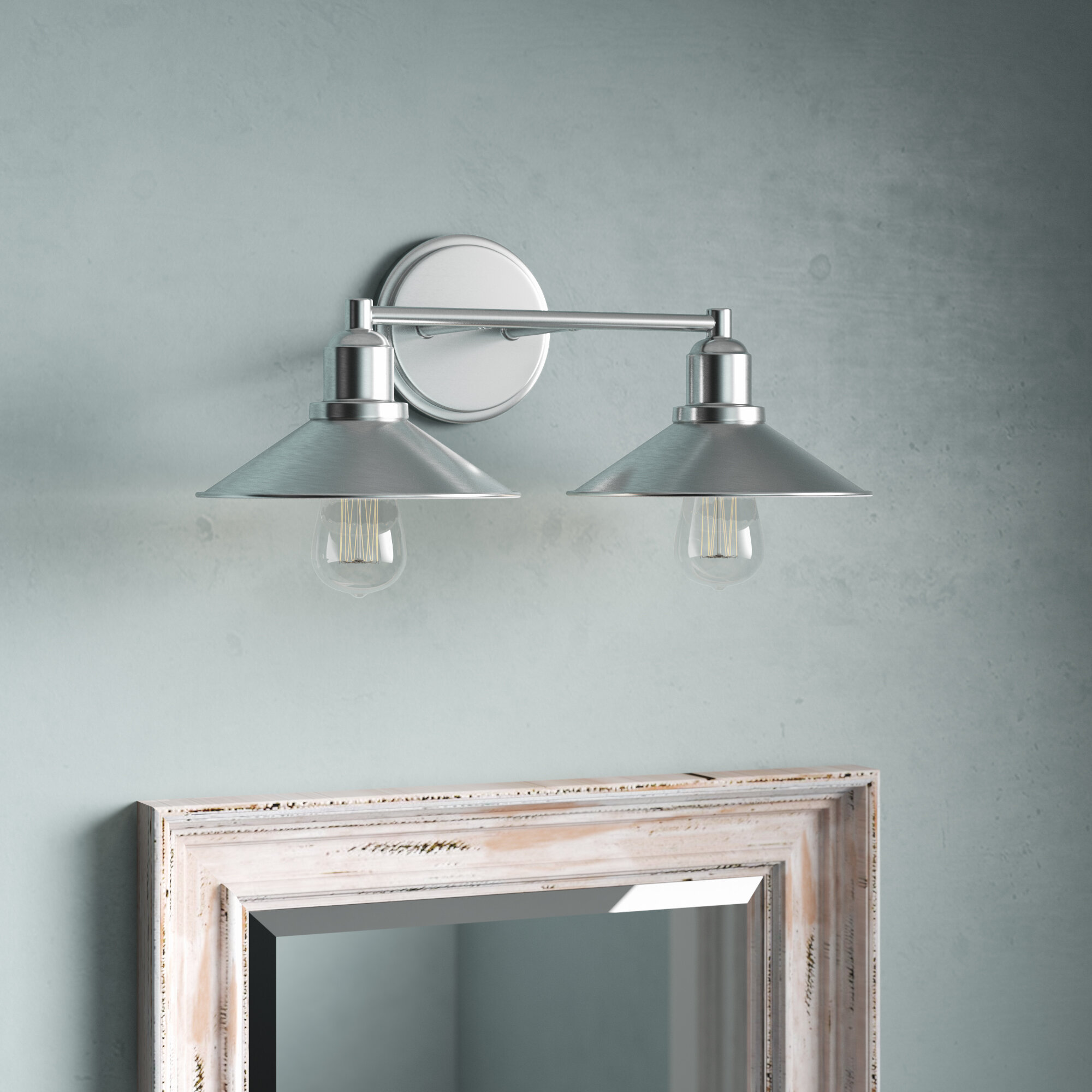 Breakwater Bay Cromartie 2 Light Vanity Light Reviews Wayfair