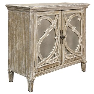 Southfield Mirrored Front 2 Door Accent Cabinet by Rosdorf Park