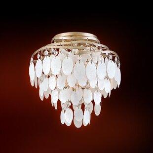 Corbett Lighting Dolce 3-Light Semi Flush Mount