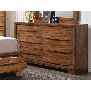 Loon Peak Russet 6 Drawers Double Dresser