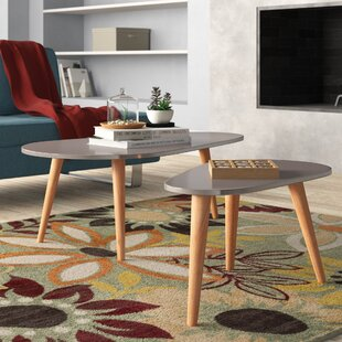 Becky 2 Piece Coffee Table Set