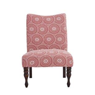 Wrens Medallion Slipper Chair by Winston Porter