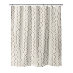 Fromberg Stripe Single Shower Curtain
