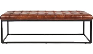 Carroll Genuine Leather Bench by 17 Stories