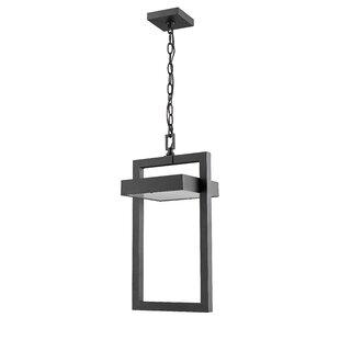 Orren Ellis Fortune 1-Light Outdoor Pendant