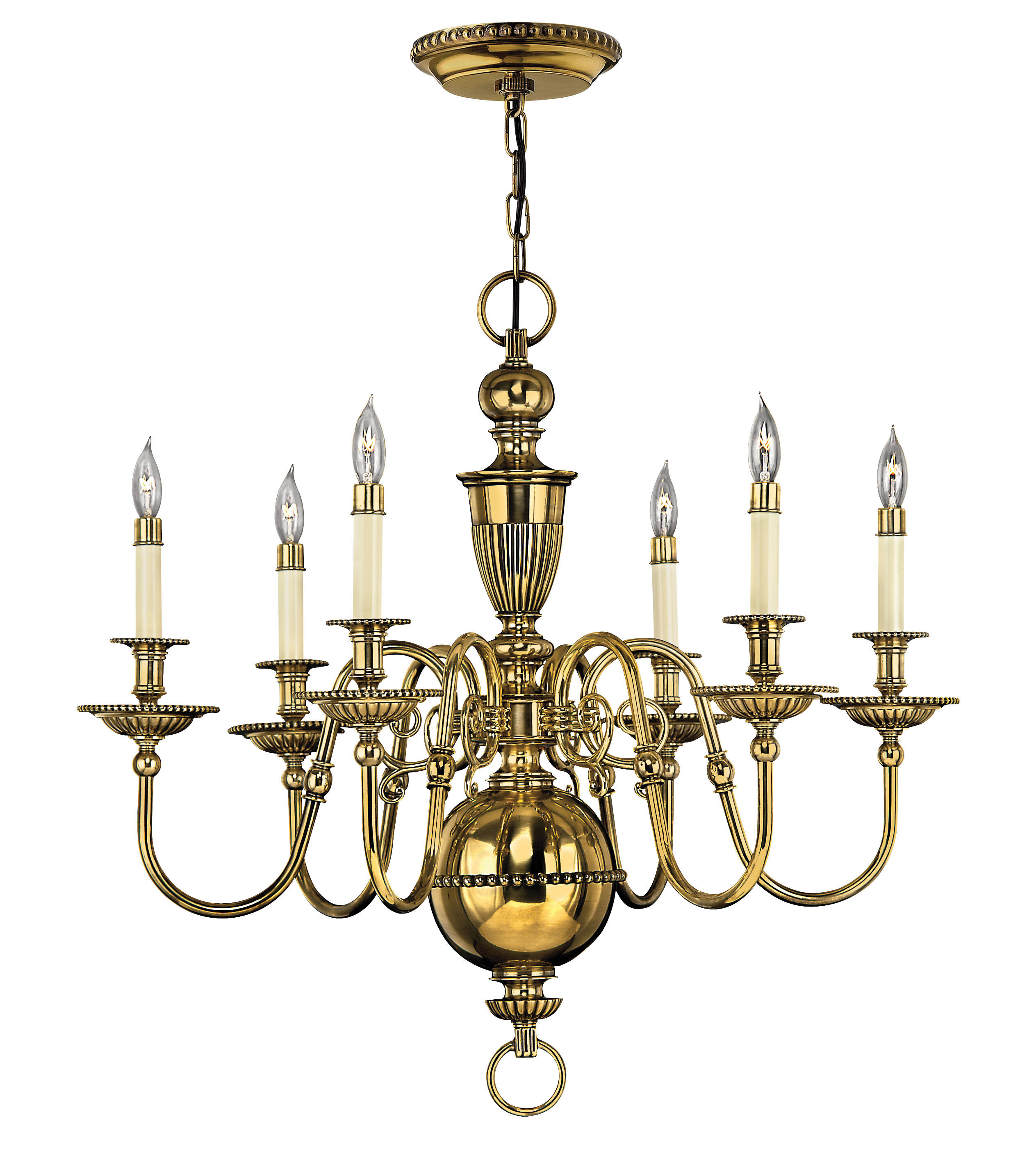 Cambridge 6 Light Candle Style Chandelier