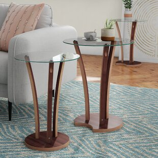 Strasser 2 Piece Nest Of Tables By Mercury Row