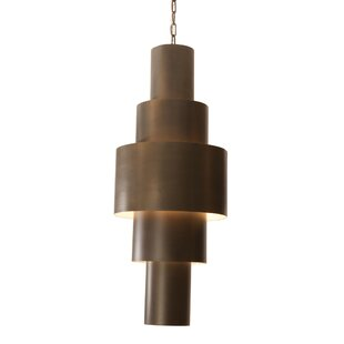 Babylon 2-Light Geometric Chandelier by Studio A Home