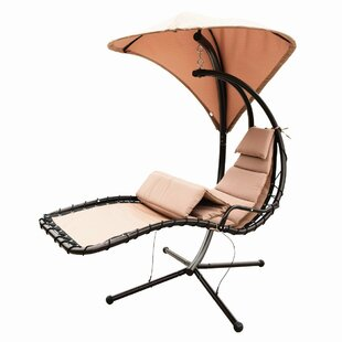 Eurich Hanging Chaise Lounger with Stand