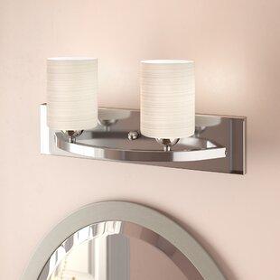 Reviews Cusack 2-Light Vanity Light ByEbern Designs